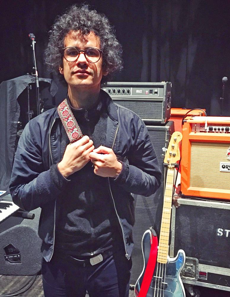 Omar Rodriguez Lopez guitar straps