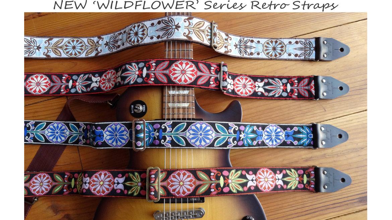jacquard guitar straps. Black Bedroom Furniture Sets. Home Design Ideas