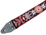 """""""Wildflower"""" Red/Black Overdrive Strap"""