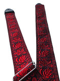 """Boho"" Red/Black Overdrive Strap"