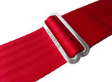 """Rosso"" Red Seatbelt Overdrive Strap_"