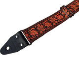 """Boho"" Orange/Black Overdrive Strap"