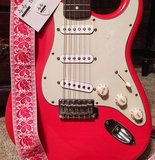 """Boho"" Red/White Overdrive Strap"
