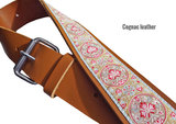 """Bohemian"" Full Leather Overdrive Strap - Cognac"