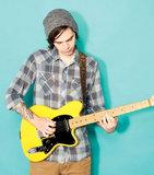 Erick Hansel of CHON - photo by Guitar World Magazine