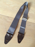 """Smokey"" Grey Seatbelt Overdrive Strap"