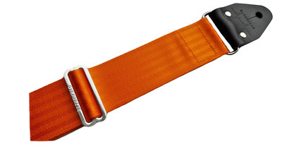 """Pumpkin"" Orange Seatbelt Overdrive Strap"