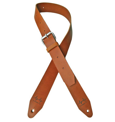 Cognac Full Leather Overdrive Strap