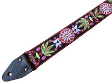 """""""Wildflower"""" Maroon/Lime Overdrive Strap"""